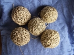 5 x 100 gram NATURAL HEMP STRING