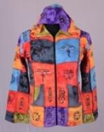 KCWJ-382 Cotton patchwork jacket