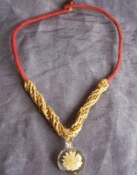 Disc Hemp Necklace
